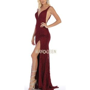 New Formal dress. Prom evening bridesmaid gown